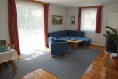 Das Foto zeigt das Wohnzimmer Ferienhaus Dani