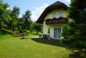 Das Foto zeigt die Terrasse vom Ferienhaus Gregor