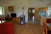 Das Foto zeigt das Wohnzimmer Bungalow Marcella