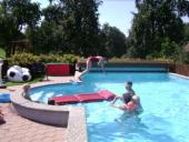 Wasservergnügen am Pool